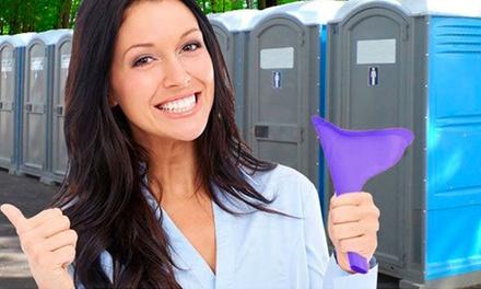 1 ou 2 urinoirs féminins réutilisables