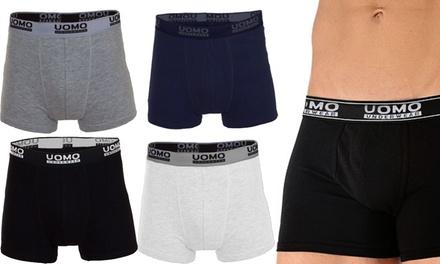 Pack de 12 Boxers para hombre por 19,90 € (50% de descuento)