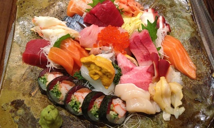 Japanese Cuisine and Sushi at Blue Fin (Up to 48% Off).