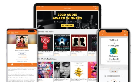 60 Day Subscription to Audiobooks.com with Two Total Audiobook Credits and a Bonus VIP Book Each Month (Up to 56% Off)