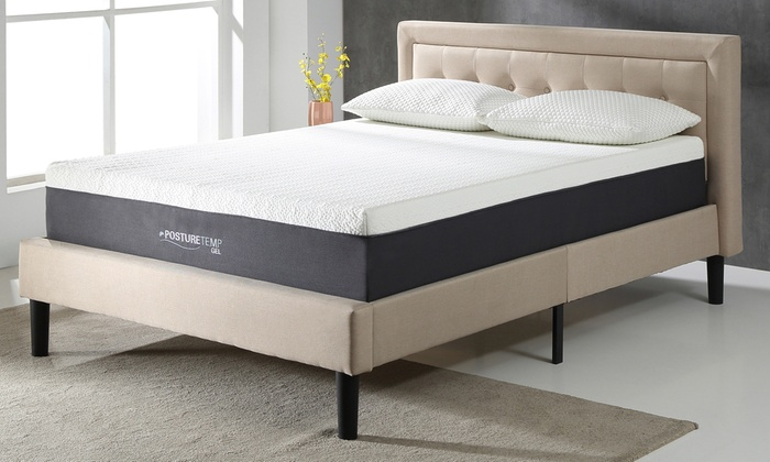 Up To 43 Off On Cool Gel Memory Foam Mattress Groupon Goods