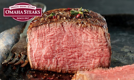 Holiday Gift Packages, Feasts, or Samplers from Omaha Steaks (Up to 72% Off)