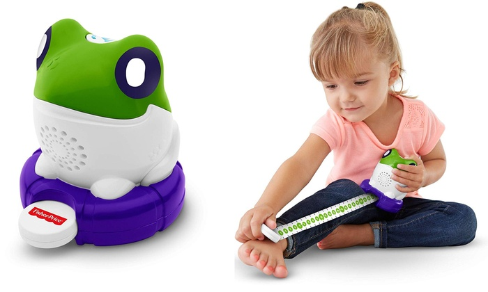 Fisher-Price Measure With Me! Froggy
