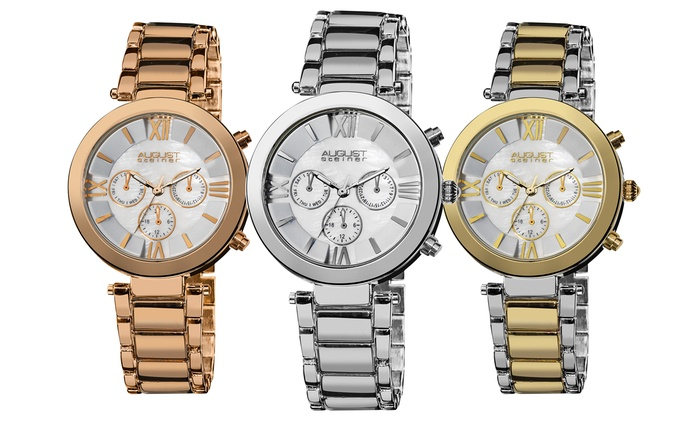 Women's August Steiner Watch for €54.99 With Free Delivery (82% Off)