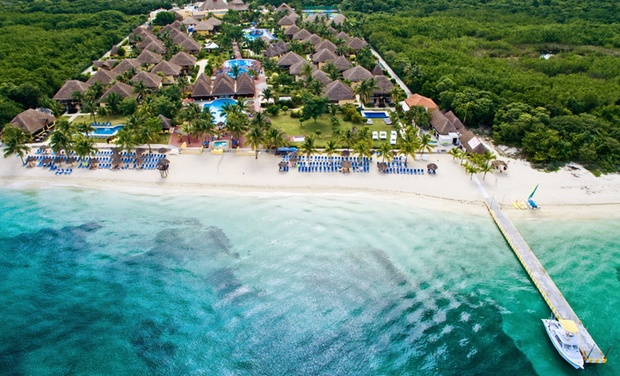 TripAlertz wants you to check out ✈ 6-Night Allegro Cozumel Resort Stay with Air. Includes Taxes & Fees. Price per Person Based on Double Occupancy.    ✈ 6-Night All-Inclusive Cozumel Vacation with Air  - All-Inclusive Cozumel Vacation