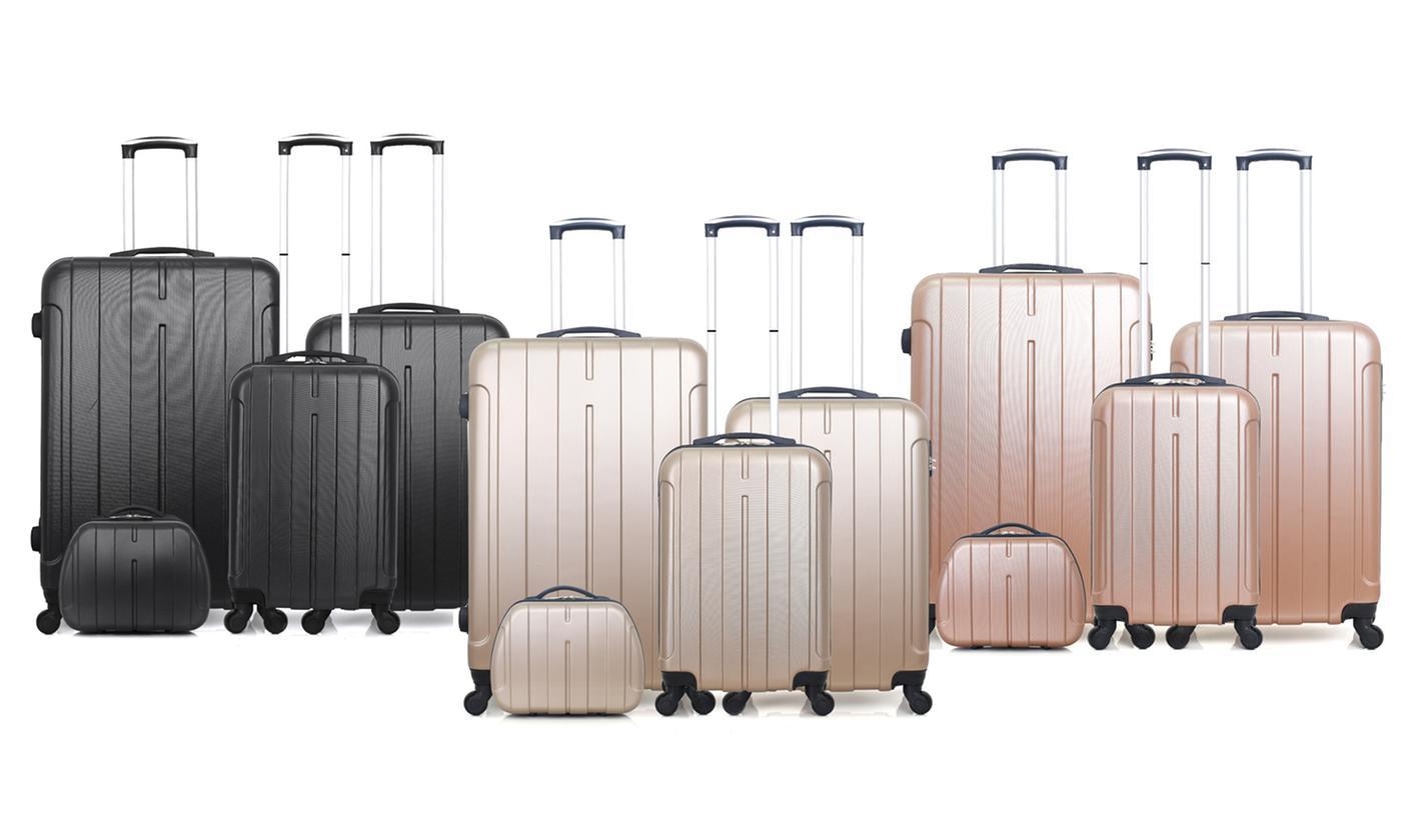 Hero Set of Four Suitcases