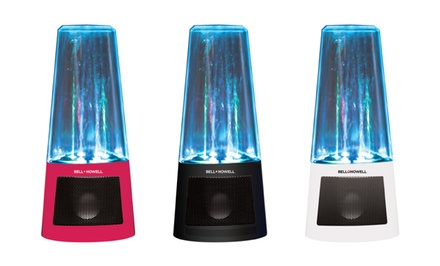 Bell+Howell Colorful LED Light Jumping Water Fountain Speaker. Multiple Colors Available. Free Returns.