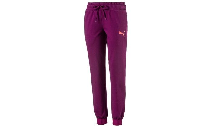 das Neueste geeignet für Männer/Frauen beste Turnschuhe PUMA Damen-Sporthose in Lila in der Größe nach Wahl