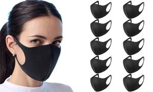 Lot de masques en polyuréthane