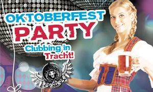 Schlösser Quartier Boheme: Oktoberfest-Party mit Tischreservierung, Speisen & Getränken im Schlösser Quartier Boheme & Henkel Saal (bis 33% sparen)