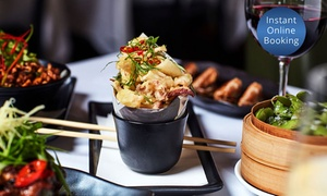 D Soho Kitchen And Bar: Modern Chinese Banquet with Wine for 2 ($39), 4 ($79) or 6 People ($125) at D Soho Kitchen And Bar (Up to $215.20 Value)