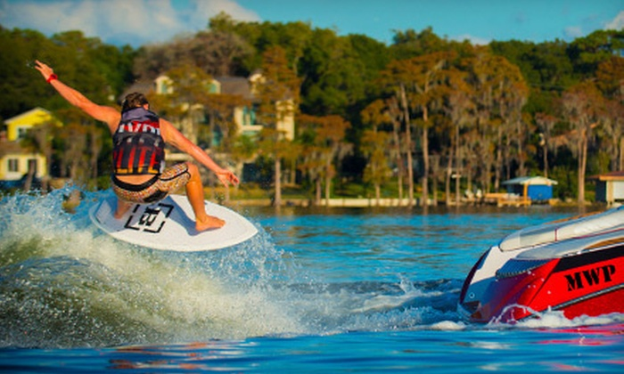 WakeBoard Clinic - Fenton: $75 for a Private One-Hour Wakeboarding Lesson for Up to Two from Wakeboard Clinic ($150 Value)