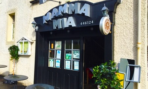 Mamma Mia: Italian Two-Course Meal for Two or Four at Mamma Mia (39% Off)