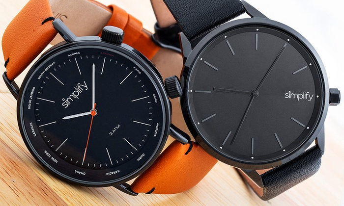 Simplify The 3300 or The 6700 Watch