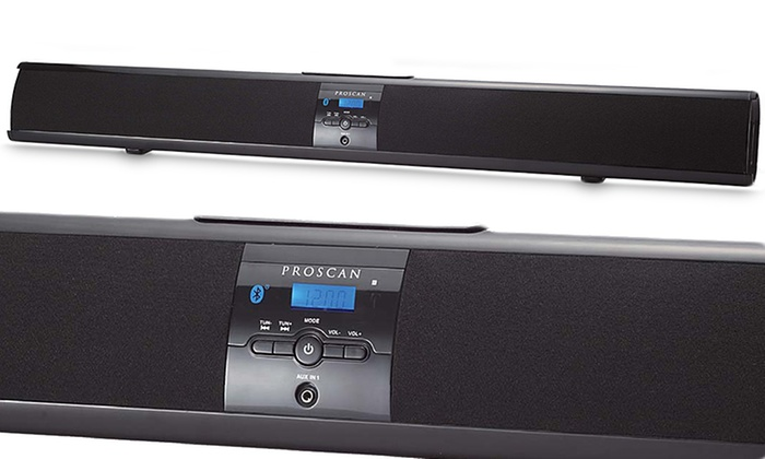 proscan bluetooth sound bar groupon goods. Black Bedroom Furniture Sets. Home Design Ideas