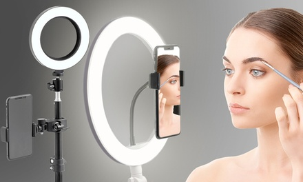 GloBrite Beauty Ring Light with Stand in Choice of Size