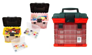 Stalwart 73-Compartment Parts & Crafts Tool Box