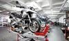 Cambio de aceite para motocicleta