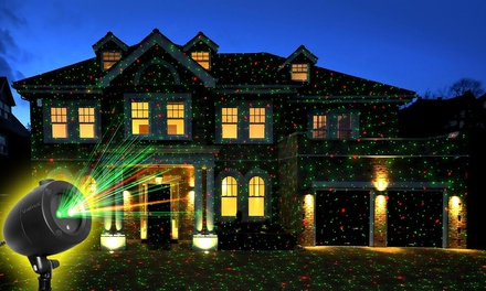 Startastic Holiday Light Show Laser Projector (Shipping Included)