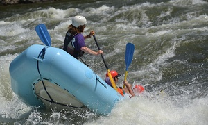 New & Gauley River Adventures: Rafting and Two Nights of Camping from New & Gauley River Adventures (Up to 52% Off)