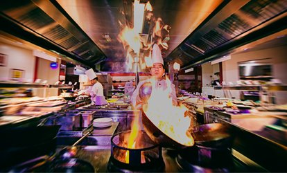 image for International Buffet Dinner for Up to Four at The Venue (43% Off)
