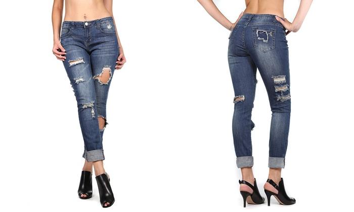 071263b49f1e9 V.I.P Jeans Women s Skinny Jeans (Size 3 4)