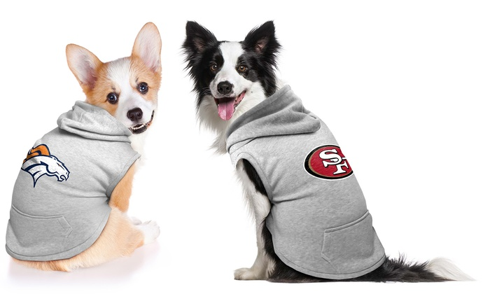 NFL Dog Hoodies XS-M