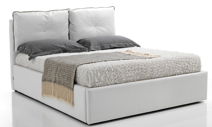 Letto contenitore nora groupon goods for Groupon arredamento