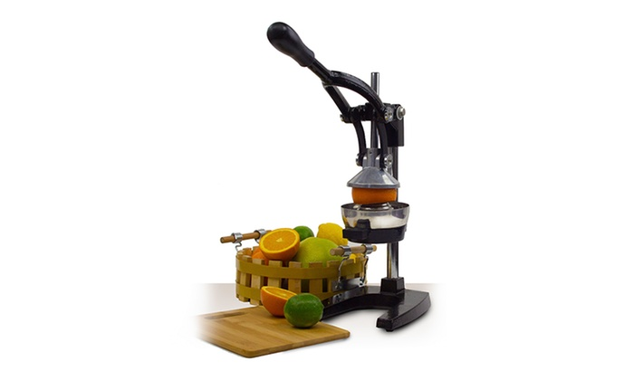 Up To 38 Off On Cast Iron Manual Juicer Groupon Goods