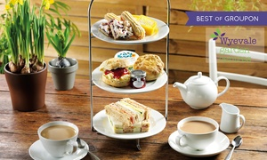 Wyevale Garden Centres Limited: Afternoon Tea for Two or Four at Wyevale Garden Centres, 126 Locations (Up to 41% Off)