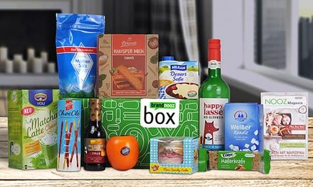 brandnooz Box mit Markenlebensmitteln (62% sparen*)