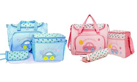 Trend Matters Travel Diaper Bag Set (4-Piece) 4772ac66-e317-11e6-9a05-00259069d7cc