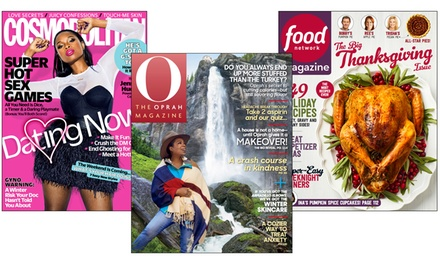 One-Year Subscription to Food Network or Other Titles Including Cosmopolitan, Esquire, and More (Up to 67% Off)