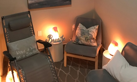 45-Minute Salt Therapy Sessions or One Month Unlimited at ReFresh Salt Therapy (Up to 53% Off). Four Options.