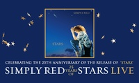 Simply Red Stars 25th Anniversary Tour, Seated Tickets, 13 - 27 November, Various Locations (Up to 51% Off)