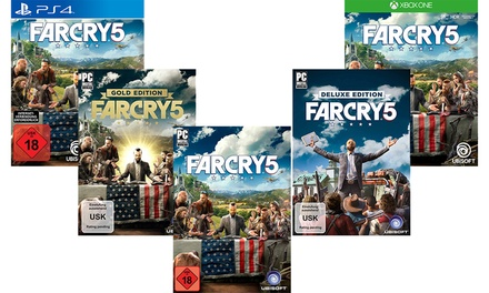 Far Cry 5 für PC (Download), PS4 oder Xbox One inkl. Versand : 53,99 €