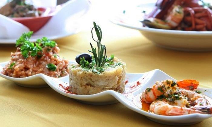 Chez le Portugais - Jeanne-Mance: $39.99 for a Portuguese Tasting Dinner for Two at Restaurant Chez Le Portugais ($82 Value)