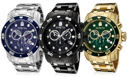 Invicta Pro Diver Men's Swiss Chronograph Watches