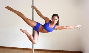 Pole Dance & co: 1, 2 ou 4 cours de pole dance et en option 1 cours de tissu aérien et de stretch dès 17,99 € chez Pole Dance & CO