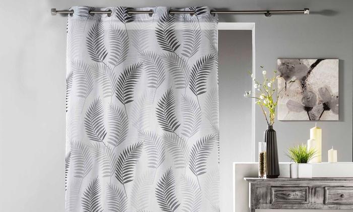 Vorhang mit Blätter-Muster | Groupon Goods