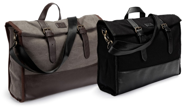 The Modern Messenger Bag With A 10 000mah Battery Charger