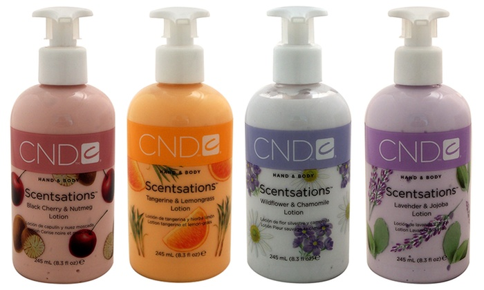 CND Hand & Body Moisturizers for Unisex (8.3 Fl. Oz.)