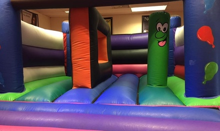Two-Hour Nerf, Bouncy Castle or Disco Fun Party with Food for 15 Kids at EWF Party Centre (Up to 45% Off