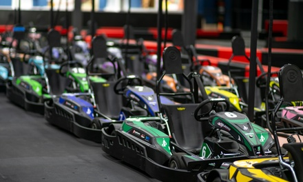 Go-Karts and Arcade Package for One Adult or Cadet at Dezerland Park (Up to 44% Off)