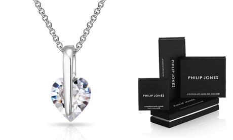 1 o 2 collares decorado con un corazón con Swarovski® desde 8,99 €