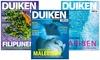 6 of 12 nummers Duiken magazine