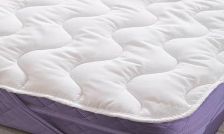 satin-striped-mattress-topper-hollowfibre