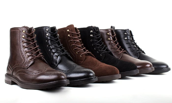 Braveman Men's Combat Boots. Multiple Styles Available.