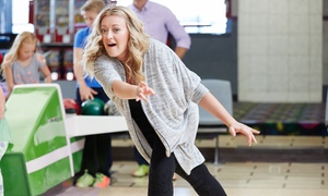 1 or 2 Hours of Bowling for 6 with Shoe Rental and Soda) at Galaxy Bowling & Entertainment (Up to 66% Off)