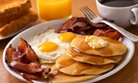 Breakfast with Regular Coffee for One ($11) or Two People ($21) at Cafe Capital Grind (Up to $45.8 Value)